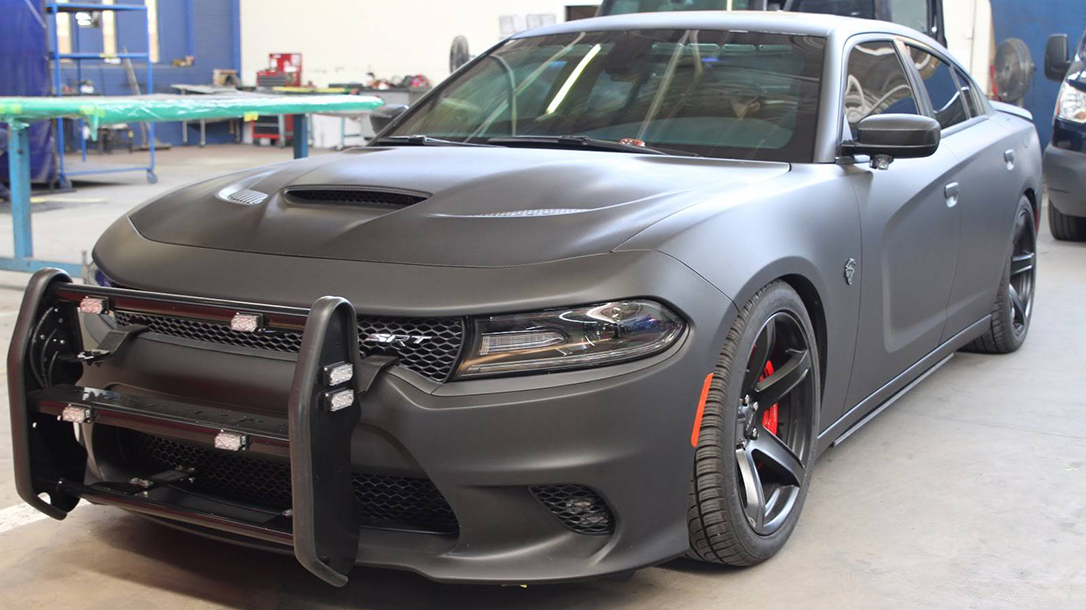 Armormax Bulletproof Dodge Charger Hellcat Police Car exterior