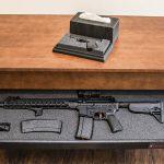 home defense, home defense gun, home defense guns, home defense safe, gun safe, gun safes, Tactical Walls Concealment Coffee Table