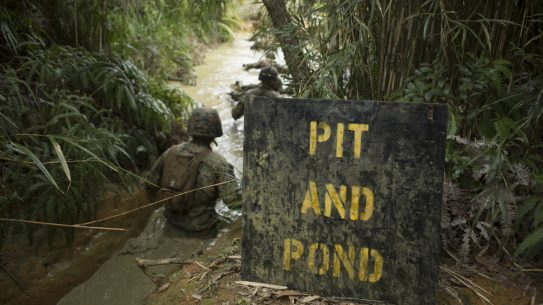 Marine Jungle Warfare Training Center, pond