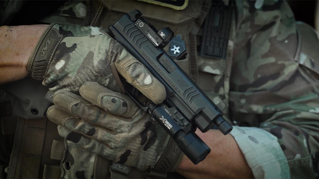 Springfield XDM OSP Threaded Pistol, military