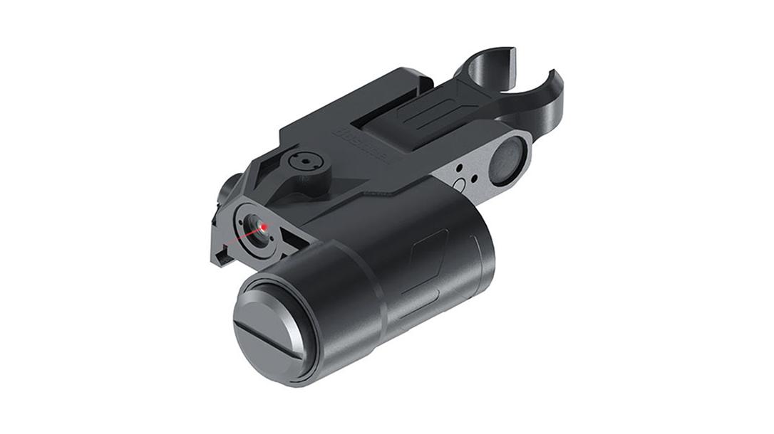 Backup Iron Sights, AR Rifle, Bushnell Chase Laser Sight