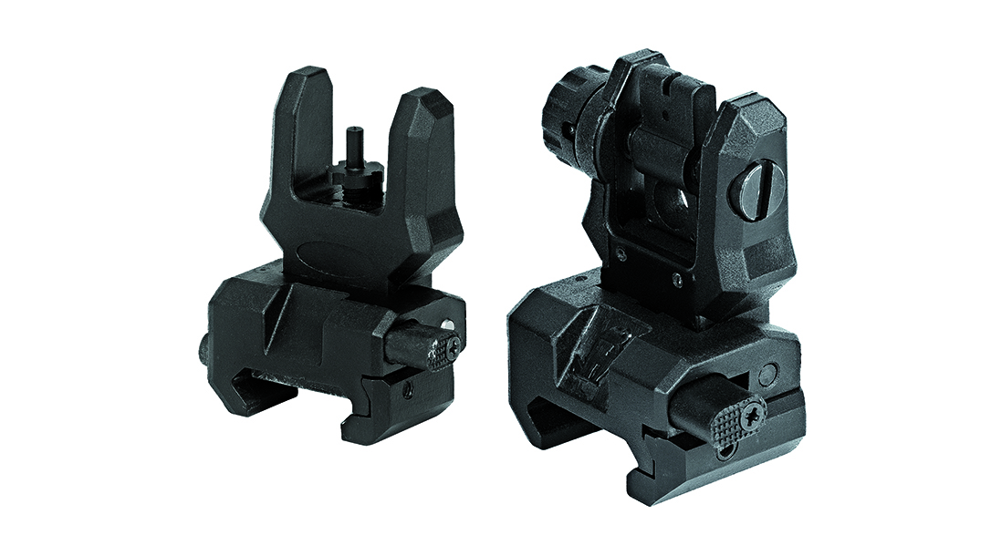 Backup Iron Sights, AR Rifle, Command Arms FFS & FRS