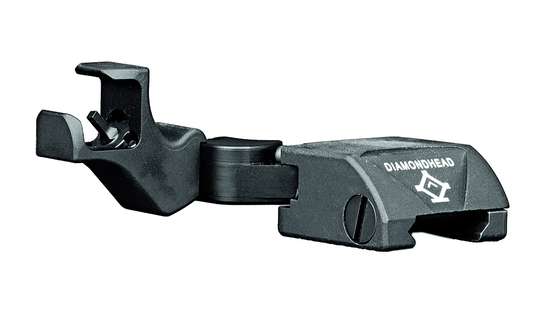 Backup Iron Sights, AR Rifle, Diamondhead D-45 ISS