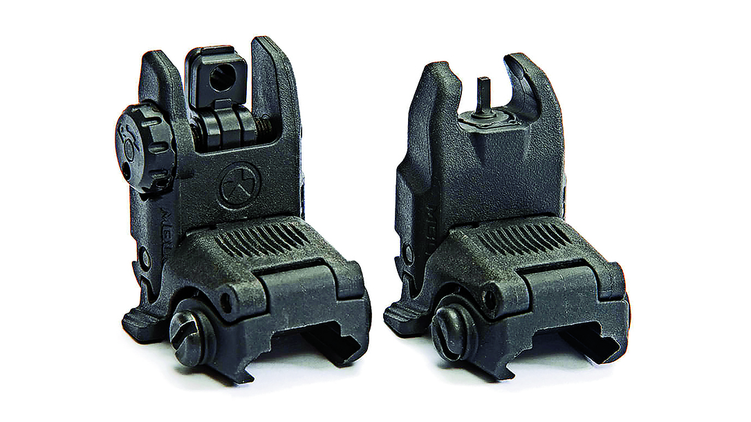 Backup Iron Sights, AR Rifle, Magpul MBUS