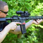 Custom AR-15 Build, Tommy Gun, range