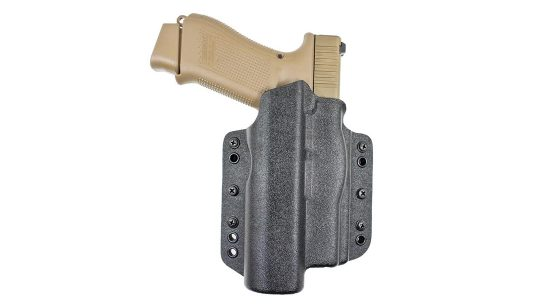 Glock 19X Holster, DeSantis Duty Raptor light bearing