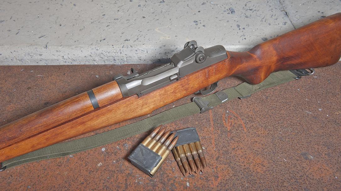 M1 Garand Rifle, Greatest Rifle, ammo
