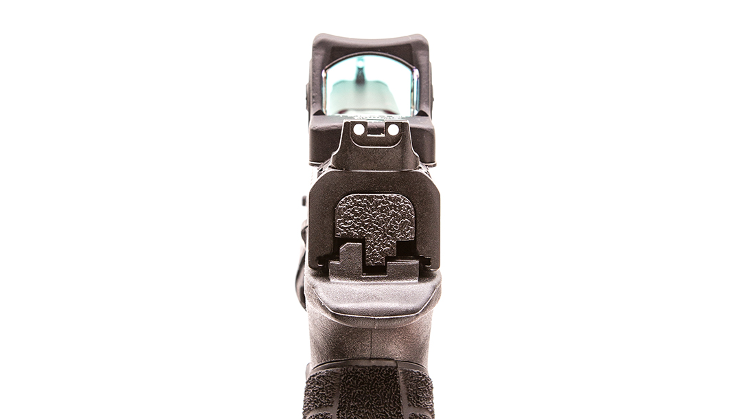 Trijicon RMR Type 2 review, view