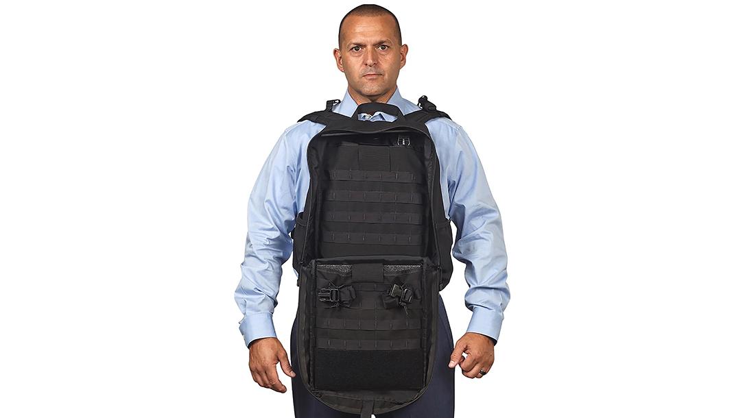 Police Gear, Eastern Beacon Industries Ballistic Backpack