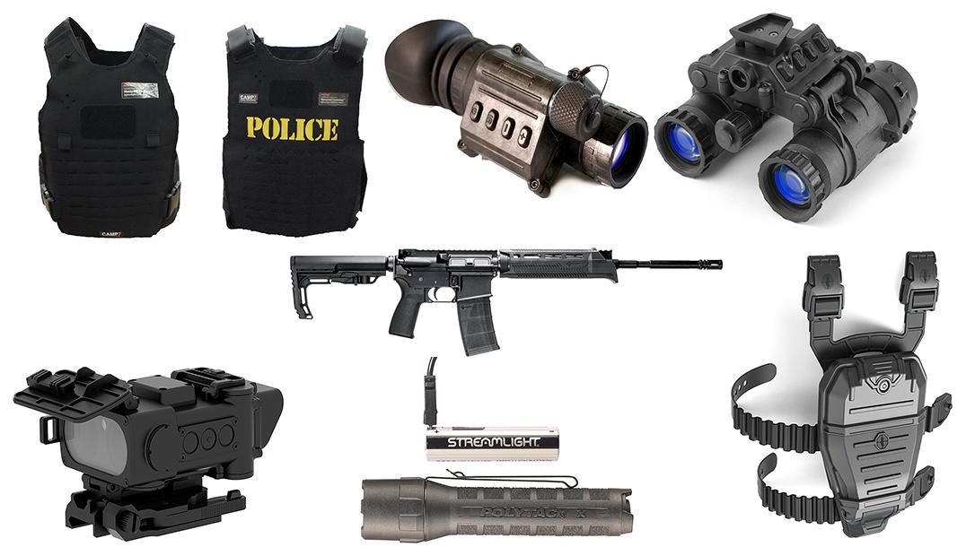 New Police Gear, spread