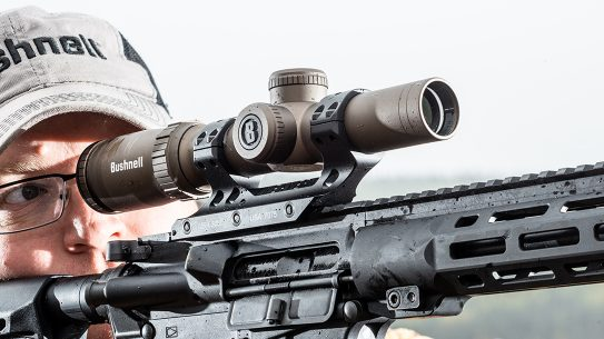 Bushnell SMRS II Pro Riflescope review, rifle, aiming
