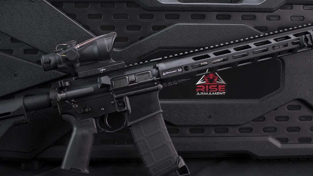 RISE Armament 300LE Rifle review, Rendezvous, logo