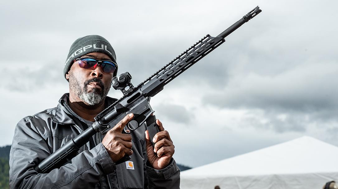 Anderson Manufacturing AM-9 Pistol-Caliber Carbine, Athlon Outdoors Rendezvous, range