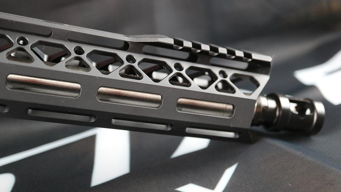 DoubleStar ZERO Carbine, rifle, Cloak handguard