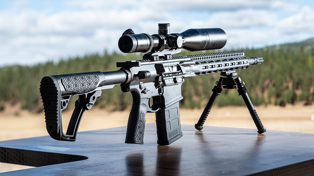 Daniel Defense DD5V2 M-LOK rifle review, range