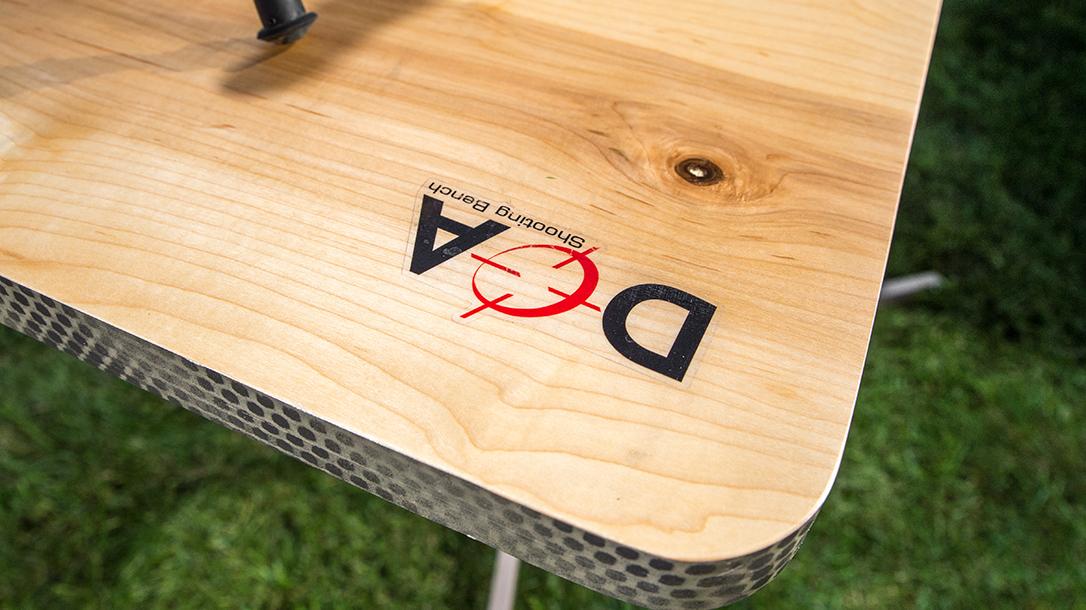 DOA Shooting Bench, shooting benches, logo