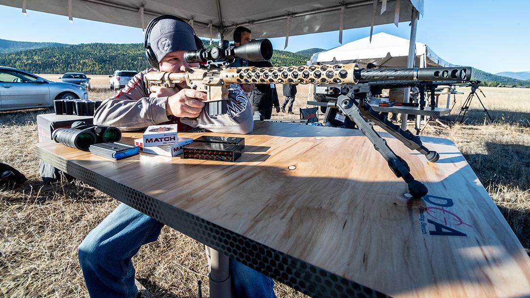 DOA Shooting Bench, shooting benches, founder