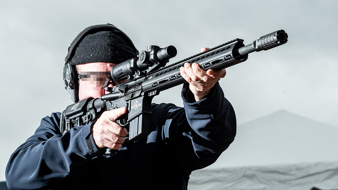 Luth-AR Rifle components, range