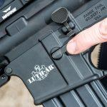 Luth-AR Rifle components, logo