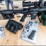 Luth-AR Rifle components, buttstock