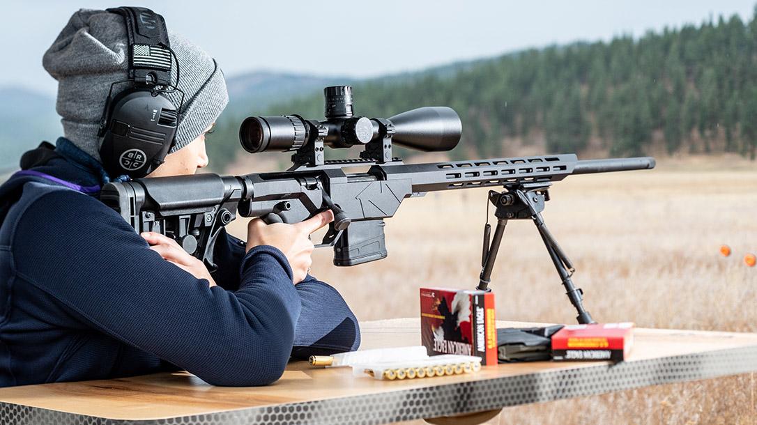 Mossberg MVP Precision Rifle, Lauren Young