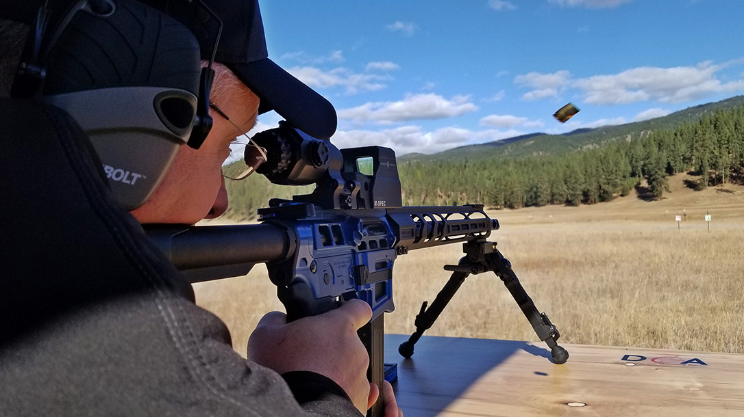 Sightmark Ultra Shot M-Spec, reflex sight, rifle, shooting