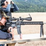 POF Renegade Plus SPR 224 Valkyrie rifle, range hit
