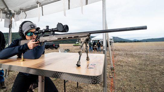 Steyr Pro THB 6.5 Creedmoor review, rifle, Lauren Young range