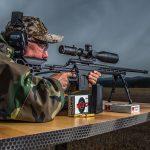 Performance Center T/C LRR precision rifle, 6.5 creedmoor rifle, aiming