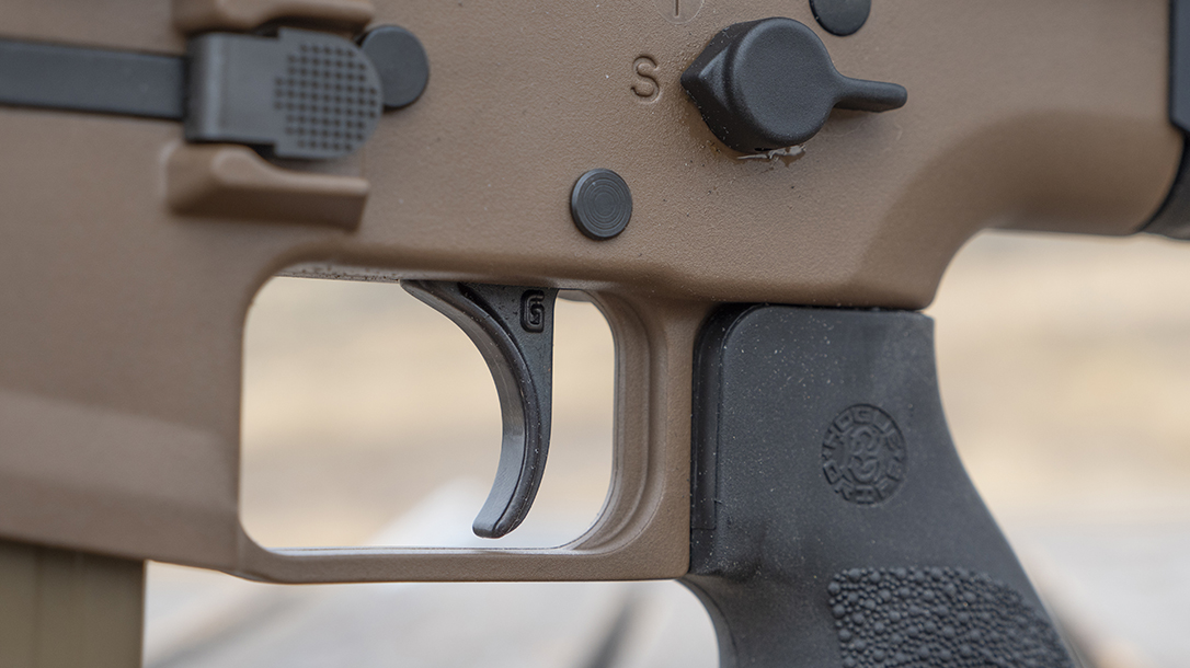 FN SCAR 20S Review, FN SCAR, trigger