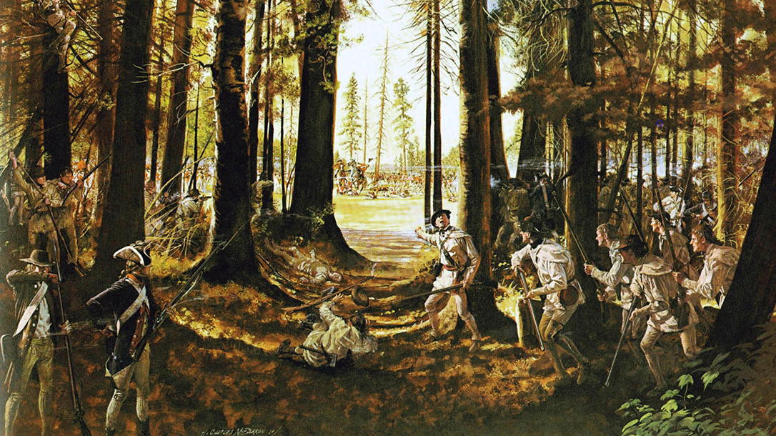 Timothy Murphy, Revolutionary War Sniper, Riflemen at Saratoga