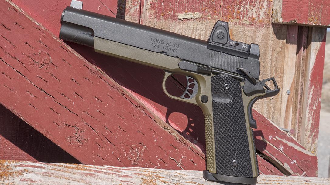 Springfield TRP 10mm 6-Inch Pistol, 1911, left