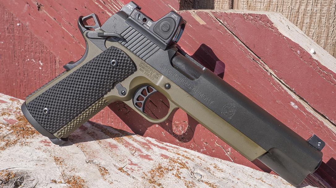 Springfield TRP 10mm 6-Inch Pistol, 1911, right