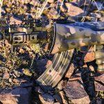 Krinkov SBR, Arsenal SLR-107UR, AK Build, folded