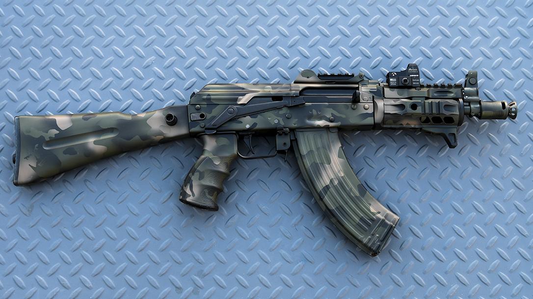 Krinkov SBR, Arsenal SLR-107UR, AK Build, right