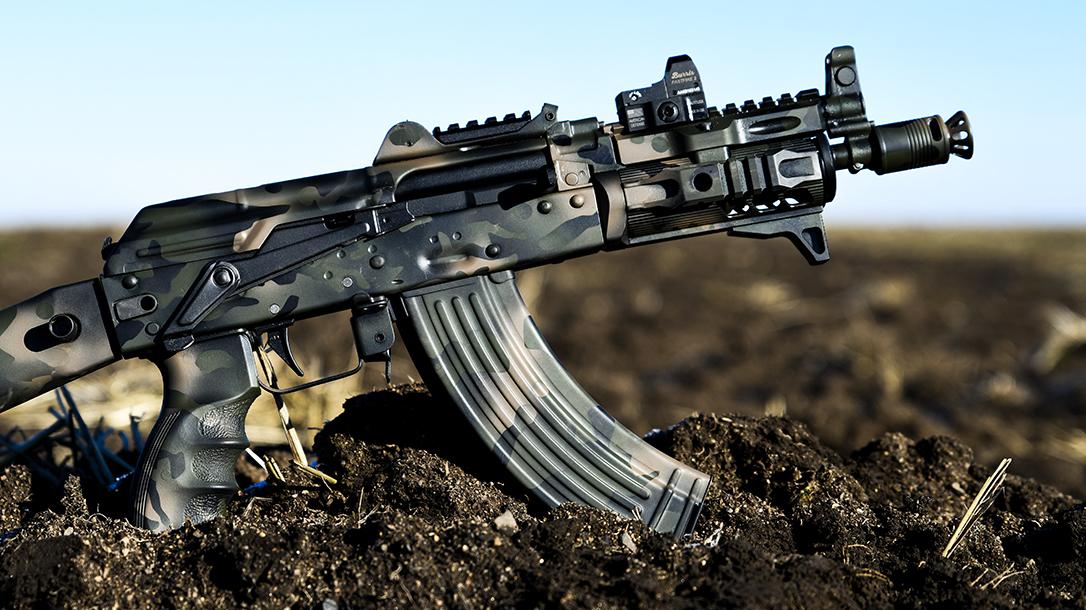 Krinkov SBR, Arsenal SLR-107UR, AK Build, camo