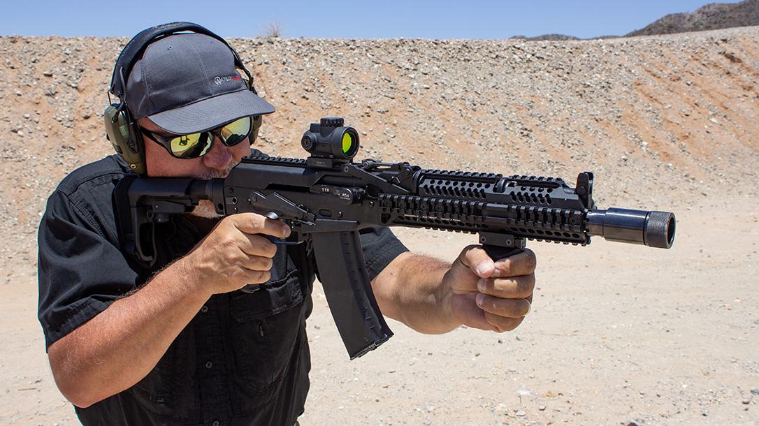 Meridian Defense Project Alpha AK-74 rifle review, Russian, range test