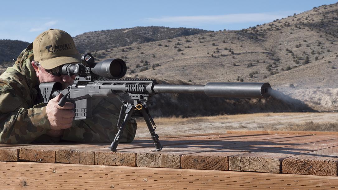 Sabatti STR Precision Rifle, Sabatti Tactical Rifle, aiming