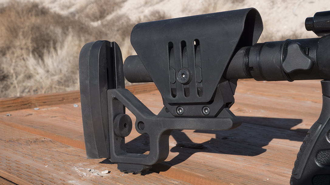 Sabatti STR Precision Rifle, Sabatti Tactical Rifle, stock