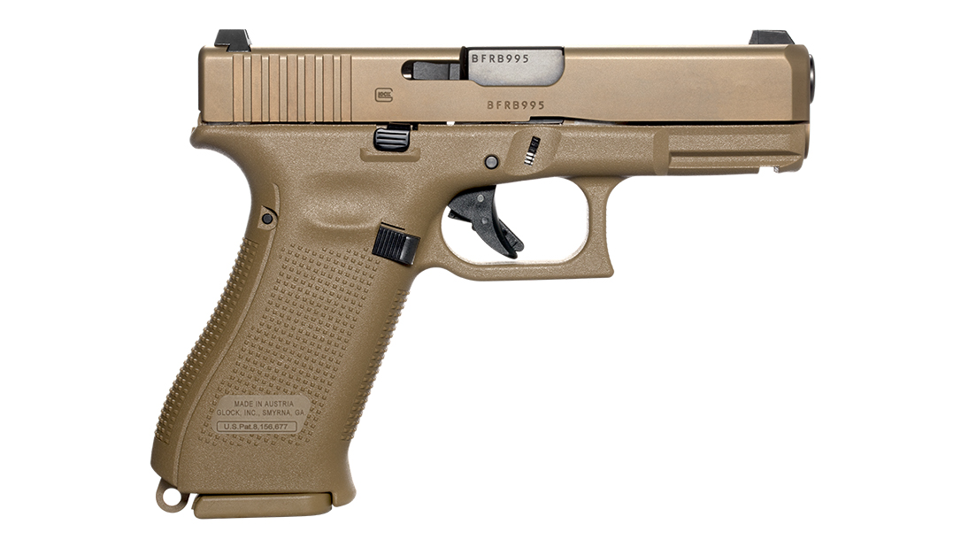 G19X review, Glock 19X review, right