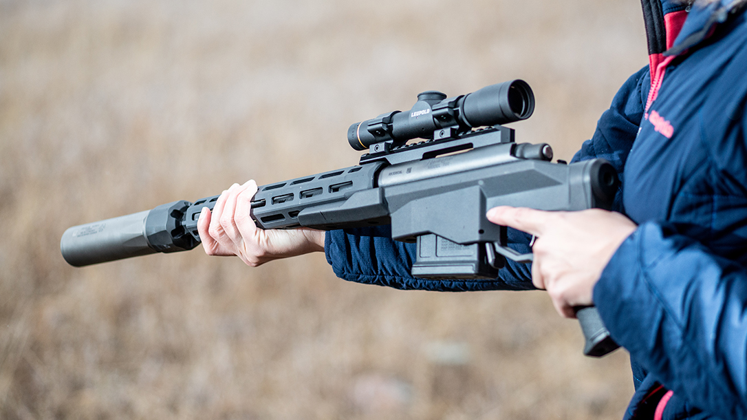 Remington Model 700CP Long-Range Pistol controls