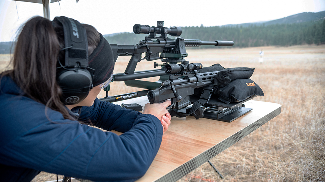 Remington Model 700CP Long-Range Pistol range testing