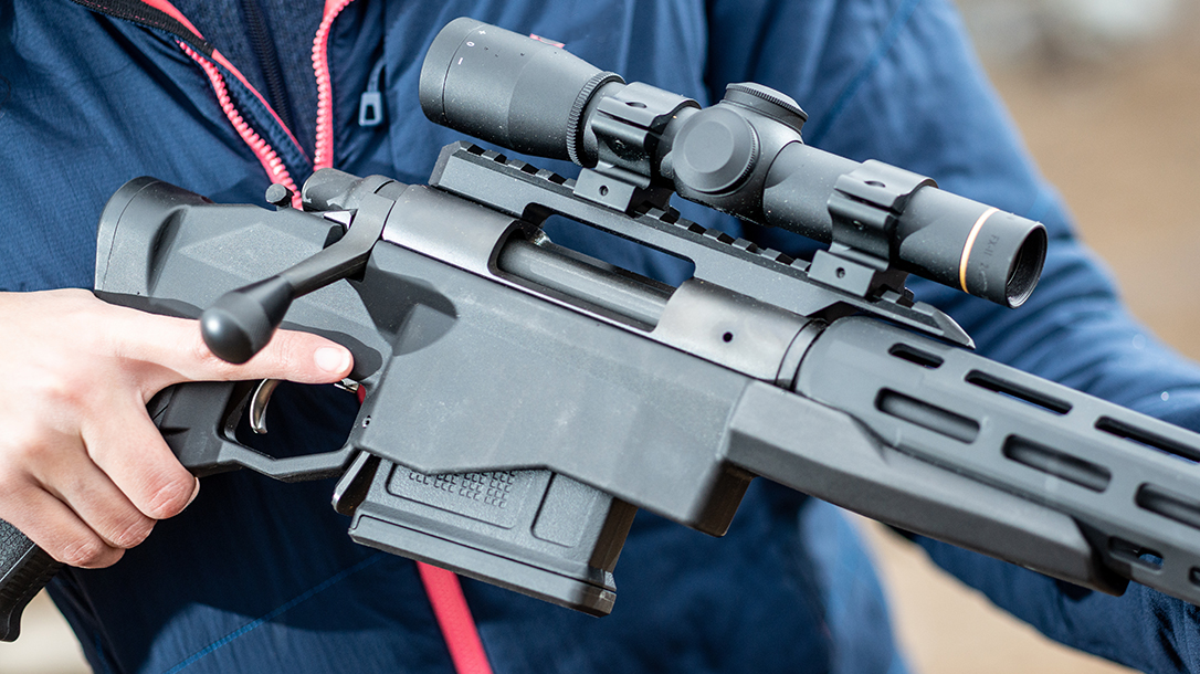 Remington Model 700CP Long-Range Pistol trigger