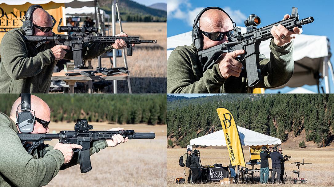 Daniel Defense DDM4V7 rifle lineup, 2018 Athlon Outdoors Rendezvous