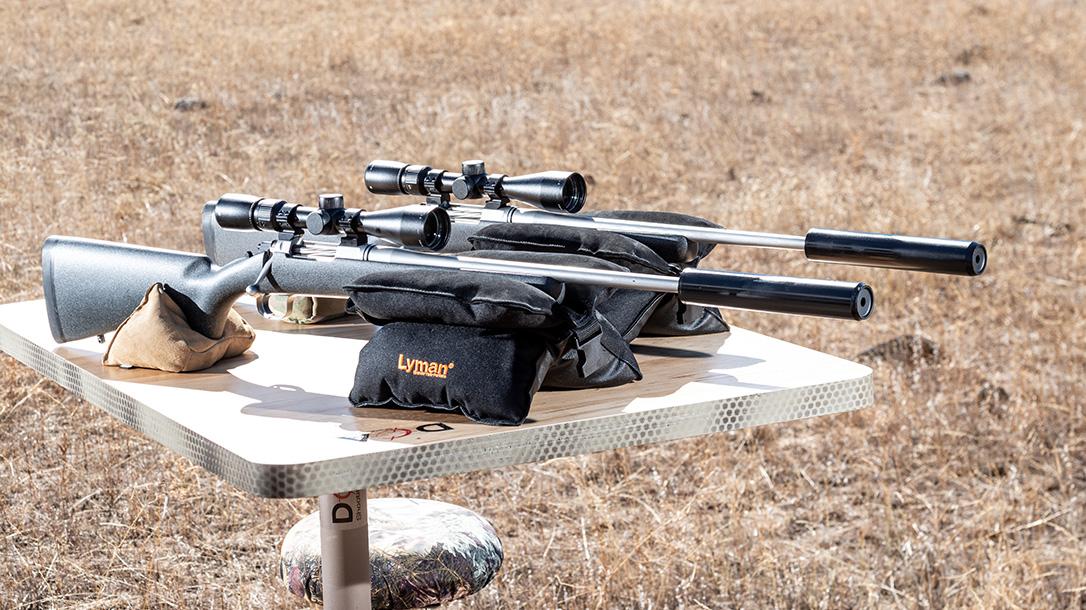 Barrett Fieldcraft 308 Rifle review, shooting bench