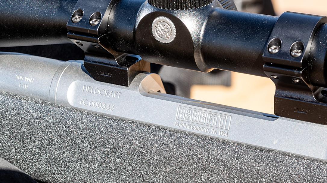 Barrett Fieldcraft 308 Rifle review, logo