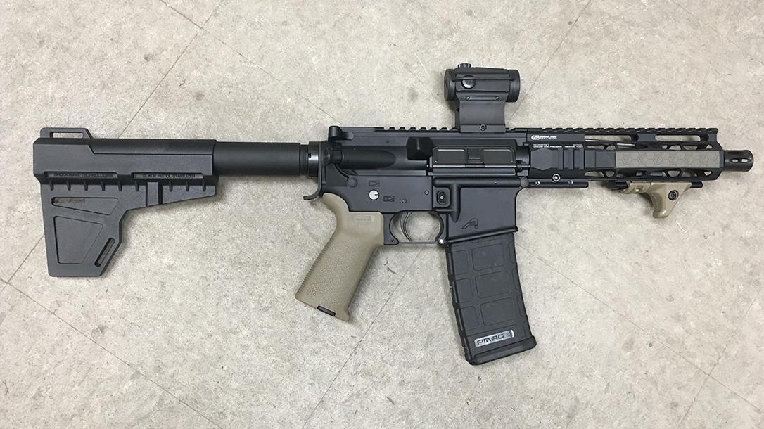 Pistol Stabilizing Braces, KAK Shockwave Blade