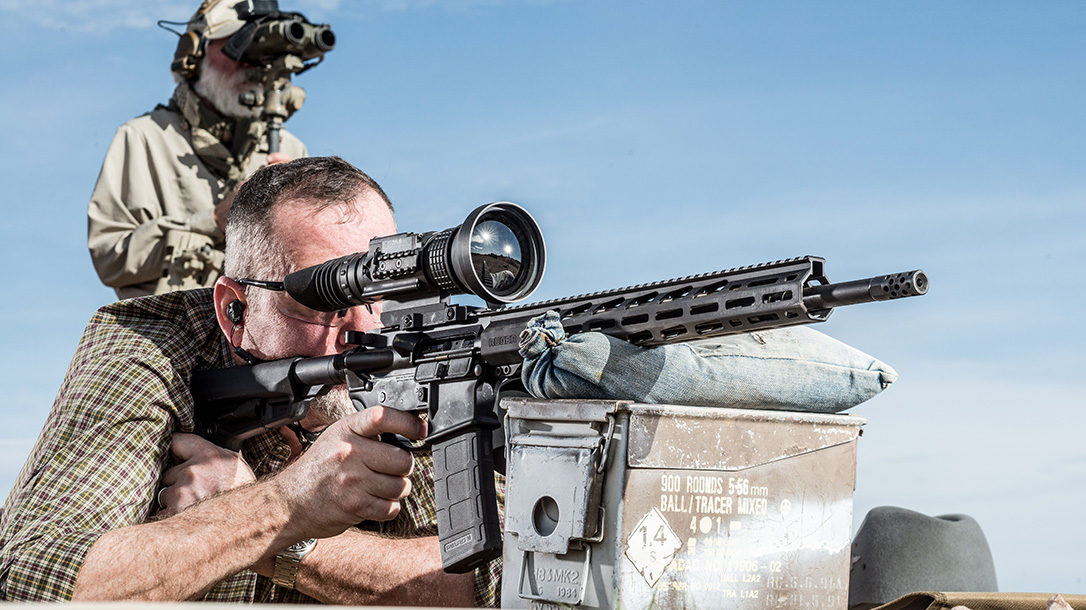 FLIR Thermal Optics, Gunsite Academy, rifle