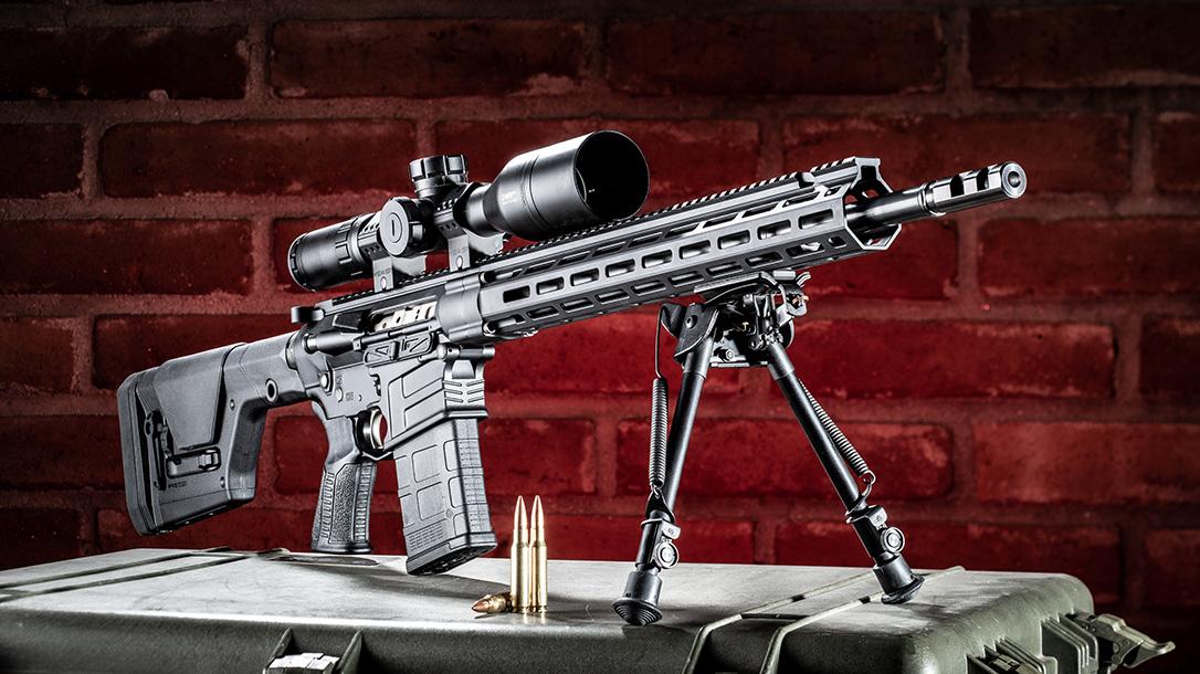 Savage MSR 10 Long Range Rifle review, Savage Arms, display