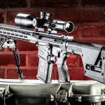 Savage MSR 10 Long Range Rifle review, Savage Arms, rear